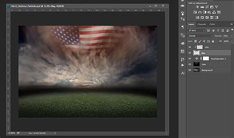 Patriotic Sports Backgrounds Photoshop Sports Templates