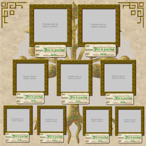 family tree template scrapbook family tree scrapbook software family heritage expansion