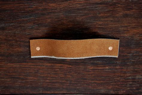 diy leather drawer pulls leather belt drawer pulls 187 the merrythought