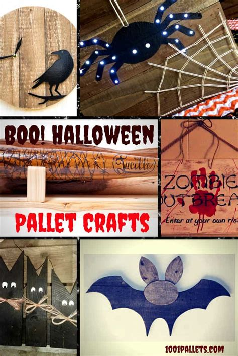 scream halloween pallet craft projects   pallets