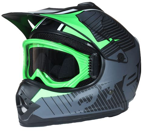 motocross helmets and goggles childrens motocross style mx helmet goggles