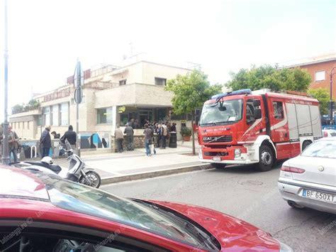 ufficio postale colleferro incendio all interno dell ufficio postale di via vitruvio