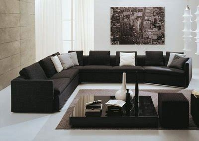 black livingroom furniture interior design and more modern living room designs