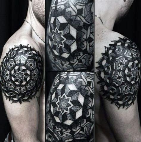 100 mens shoulder tattoos new top 100 best sacred geometry designs for