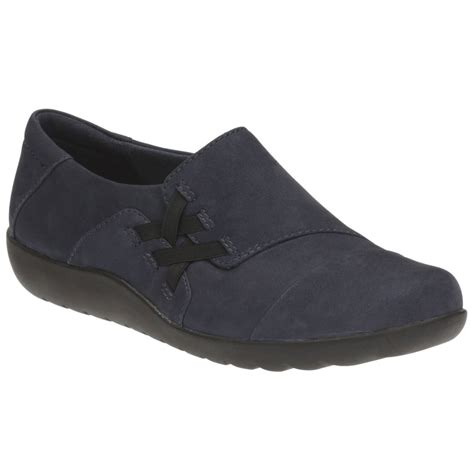 clarks medora womens casual slip on shoes