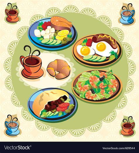 uzbek food stock photos royalty free images vectors food items royalty free vector image vectorstock