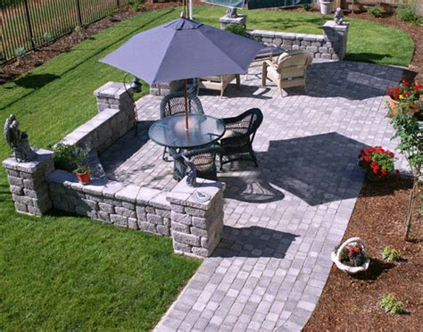 Patio Rock Designs Types Of Patio Material And Advantages About Patio