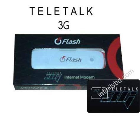 Modem Flash 3g by Teletalk 3g Flash Dongle Modem Zte Mf193a