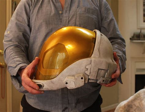 How To Make A Halo Helmet Out Of Paper - helmet clear visor blank prop replicas custom