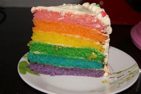 Gamis Marble Pelangi 9 pin rainbow cakekek pelangi muffin kaseh azean cake on