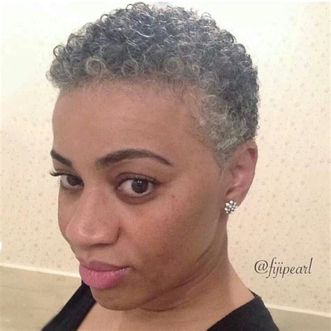 short afro gray styles gray and black hairstyles fade haircut