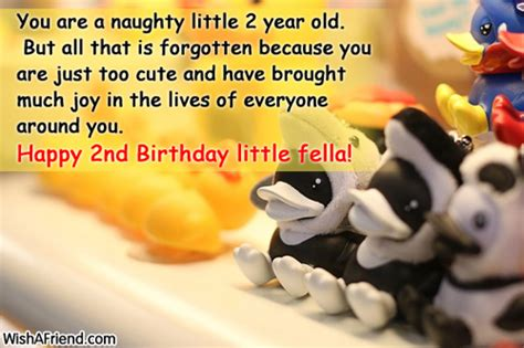 Happy Birthday Wishes For Two Year Happy 2nd Birthday Baby Boy Quotes
