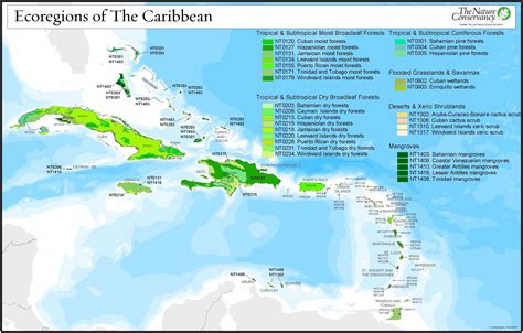 map of caribbean islands other maps wwf