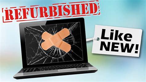 buy refurbished electronics youtube