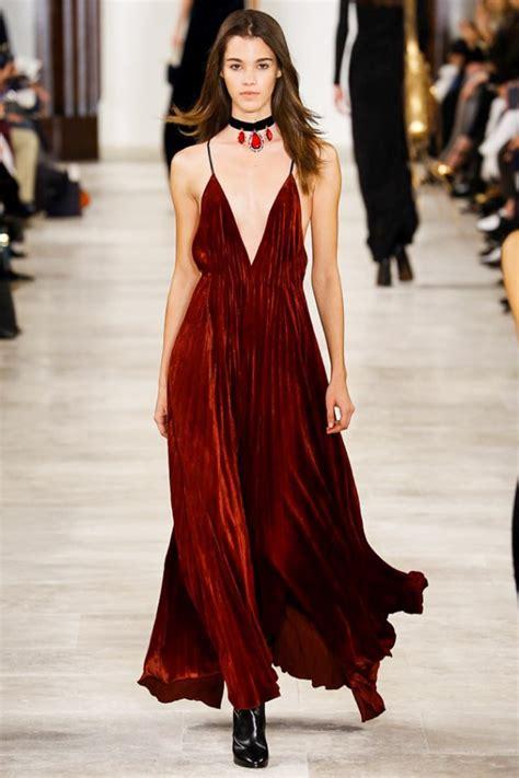 Trend Velvet by New York Fashion Week Fall 2016 Trends Plaid Velvet More