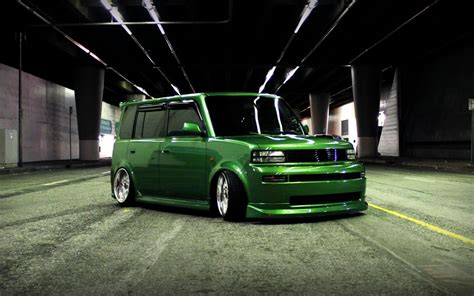 scion xb wide kit scion xb green wallpapers 1680x1050 410603