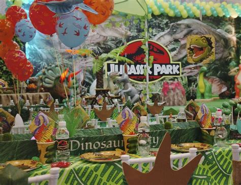 jurassic park themed birthday party dinosaurs birthday quot jurassic park quot catch my party