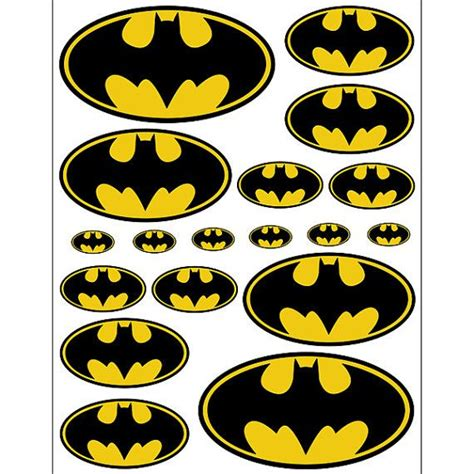 printable batman stickers instant download batman 5 sizes for balloon