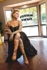 zoey taylor tattoo zoey s gallery the warren
