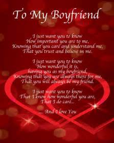 to boyfriend poem birthday valentines day