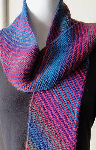 knitting pattern diagonal scarf ravelry mochi plus diagonal scarf pattern by laura andersson