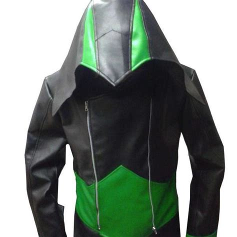 Assassin Creed Sweater Hoodie Jg Asc 06 assassin s creed 3 black green kenway hoodie jacket coat 2016 on luulla