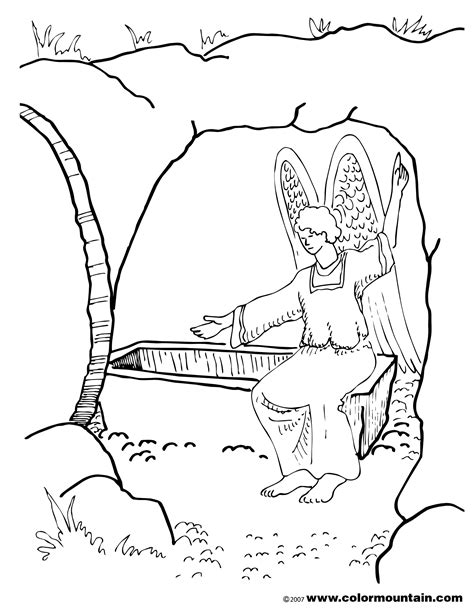 jesus resurrection coloring pages resurrection coloring pages printable coloring image