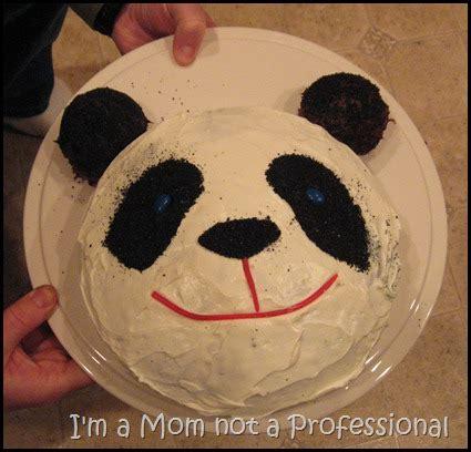 panda cake template i m a not a professional po cake