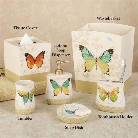 butterfly bliss bath accessories