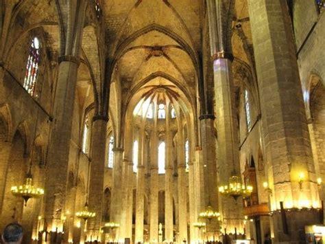 libro cathedral of the sea bas 237 lica de santa mar 237 a del mar picture of the basilica of santa maria del mar barcelona