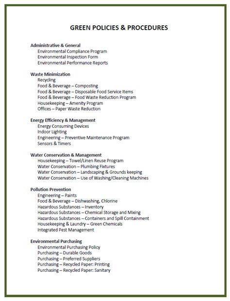 Policy And Procedure Template Madinbelgrade Policy Manual Template
