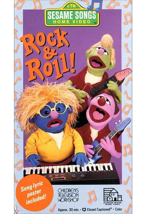 sesame songs rock roll vhs 1990 directed by ted may