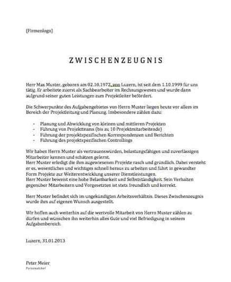 Schweiz Brief Beispiel Arbeitsbest 228 Tigung Vorlage Muster Und Vorlagen Kostenlos