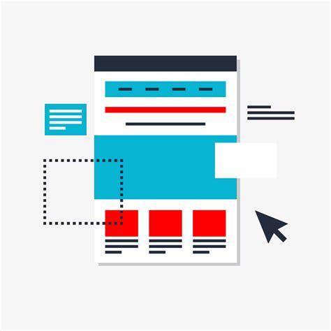html zentriertes layout online marketing