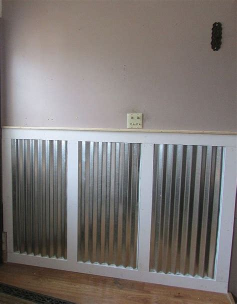 Modern Wainscoting Panels Adding Industrial Modern Wainscoting For A High Traffic