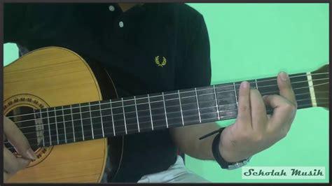 tutorial gitar jika kami bersama belajar chord kunci gitar 7 dominan seven lengkap