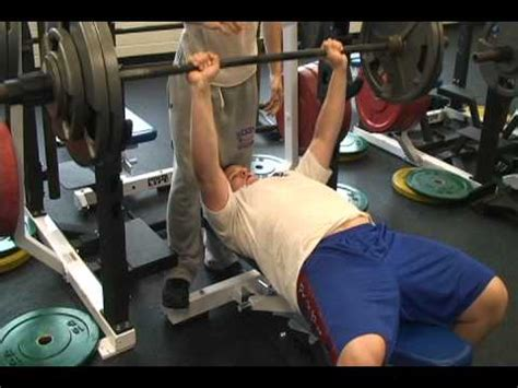 spartan bench press bixby spartan football jake mcgill 285lb bench press