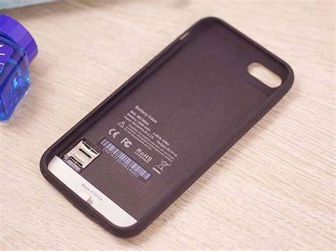 kuke iphone  battery case   microsd card slot gadgetsin