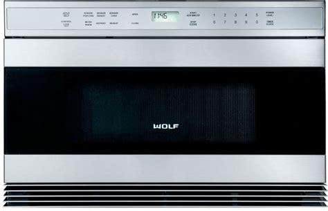 Wolf Microwave Drawer 24 by Wolf Mwd242us 24 Inch Built In Microwave Drawer With 1 0