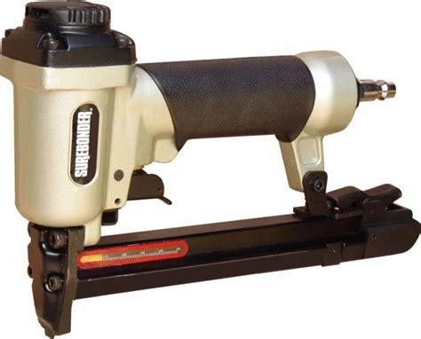 best pneumatic upholstery stapler surebonder t 50 pneumatic stapler fires 1 4 inch thru 9 16