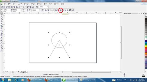 tutorial membuat logo xl corel draw tutorial coreldraw membuat logo coreldraw making a