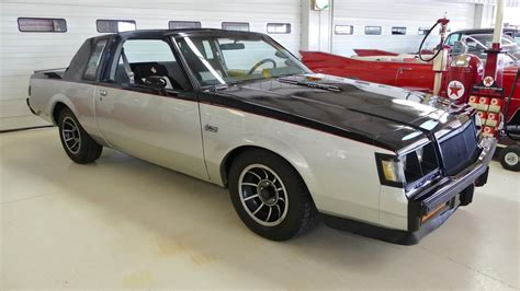 1985 buick regal grand national 1985 buick regal t type turbo grand national stock
