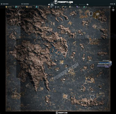 1405939745 assassin s creed odyssey the official check out the full world map for assassin s creed odyssey