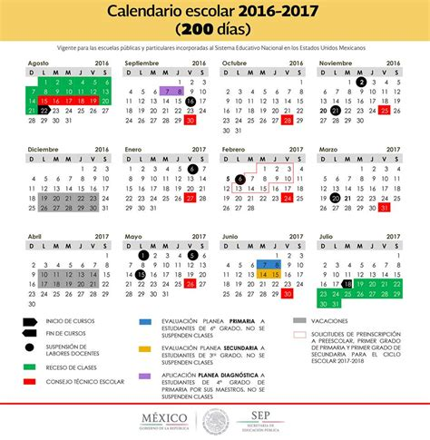 inscripcion a secundaria ciclo escolar 2016 2017 en bc sep publica los 2 calendarios para el ciclo escolar 2016 2017