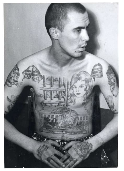 russian tattoo history fascinating portraits of criminals covered in russian