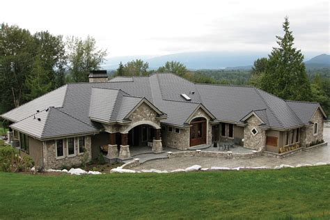 Tudor House Plans by Interlock 174 Slate Roof System Ontario Roof