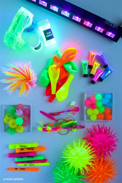 black light party supplies glow party ideas ultimate guide how to throw a black
