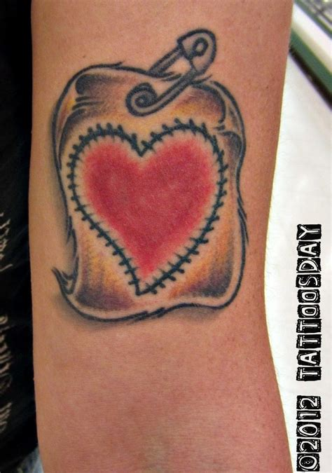 heart tattooed on my sleeve tattoosday a tattoo blog erica wears her heart on her