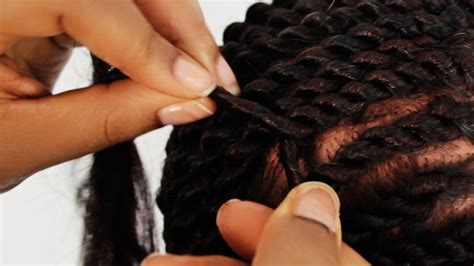 step by step to do jumbo senegalese senegalese twist cornrows step by step tutorial part 2 of