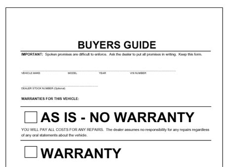 bicycle bill of sale samples vehicle no warranty printable 85504